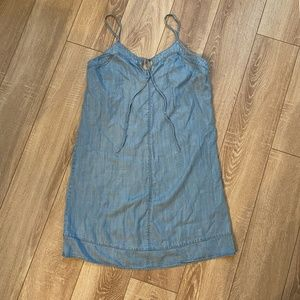 Vince Camuto Chambray Sundress V-Neck Size Small